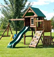 costco play structure play structures swing and the wood complete play set comes complete with lumber