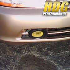 2000 Honda Accord Yellow Fog Lights Details About Yellow Fog Lights Bumper Lamps For 2001 2002 Honda Accord Sedan 4dr Wiring