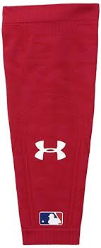 under armour arm sleeve. under armour men\u0027s knit baseball arm sleeve, red/red, large/x- sleeve