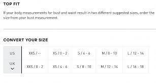Us Women S Shirt Size Chart Size Chart Adidas