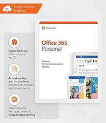 Microsoft Office 365 Personal For 1 Windows Mac 1 User 1 Year Email Delivery In 2 Hours No Cd