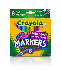 crayola gel fx washable markers