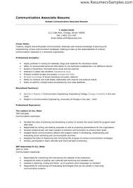 Excellent Communication Skills Resume Example Communication - Communication  skills resume phrases