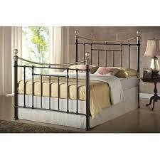 Impressive King Size Metal Bed — Ccrcroselawn Design