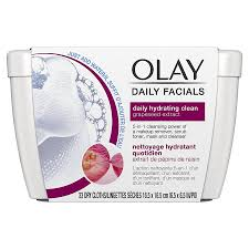 olay daily soap free eye makeup remover 4 in 1 cleanser