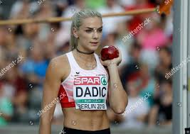 Austrias Ivona Dadic makes attempt shot put Editorial Stock Photo - Stock  Image | Shutterstock