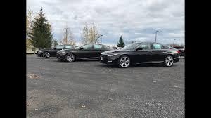 2018 Honda Accord Sport Ex Touring Comparison
