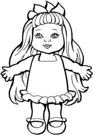 Small Picture Baby Doll Coloring Pages TsumTsumPlushcom for all of your Tsum
