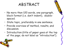 research paper discussion key terms
