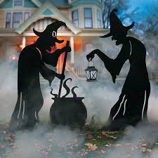 Stark and spooky Halloween yard decorations are the way to go for a truly  scary outdoor