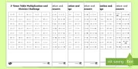 Five Times Tables Chart Ks1 All Times Tables Maths Mat Teacher Made