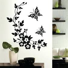 home decor vinyl wall art newest classic erfly flower home wedding decoration wall wall decoration stickers
