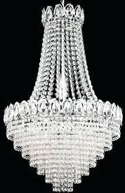 chrome teardrop light crystal chandelier elements mini