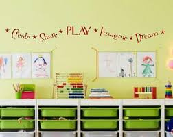 marvellous design playroom wall art decoration ideas decals etsy nursery decal kids create share play imagine dream stickers uk on dream wall art uk with marvellous design playroom wall art decoration ideas decals etsy