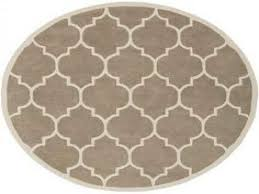 new casa quatrefoil 7 10 round area rug in blue for round lime