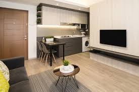 Urban Living Room Design A Modern Apartment In Sleek Interior Design For An Uncluttered