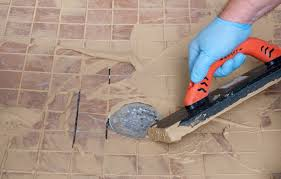 mix and apply grout