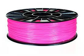 <b>Пластик</b> REC <b>ABS</b> 0,75 кг (ярко-<b>розовый</b>)
