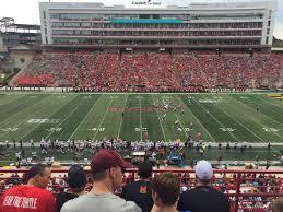 Maryland Stadium Section 206 Row 4 Seat 15 Maryland