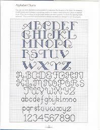 Cross Stitch Letters Backstitch Imaxinaria Org