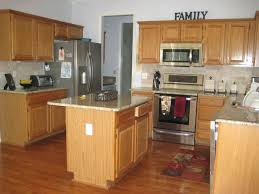 kitchen paint colors with maple cabinetsLight Wood Kitchen Cabinets With Dark Countertops Kitchen Paint