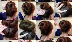 prev next donut bun hairstyle beautiful shoes easy hairstyles for long hair