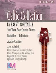 Amazon Com Cigar Box Guitar Celtic Collection 30 Celtic