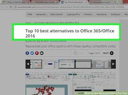 office com free 4 ways to get microsoft office for free wikihow