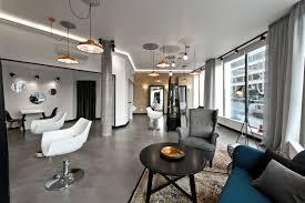 beauty salon lighting. lithuania beauty salon with beautiful lighting