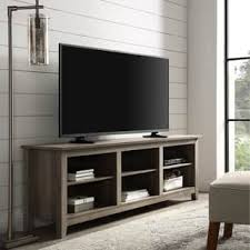 70 Inch Rustic Farmhouse Wood TV Storage Console Rustic Entertainment Center C47
