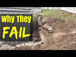 how not to build a retaining wall you
