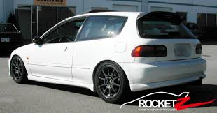 Civic 92-95 M Style Side skirts 3D | ROCKETZ AUTOSPORT