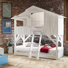 bunk beds with slide and swing. Simple Slide Kids Room With A Bunk Bed Throughout Beds With Slide And Swing