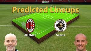 Tenha em atenção as regras de conduta antes de escrever o seu comentário. Predicted Lineups And Player News For Ac Milan Vs Spezia 04 10 20 Serie A News