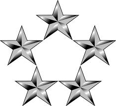Resultado de imagen para 5 estrellas