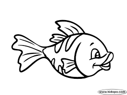 Fish Template Cute Fish Coloring Page Mias 7th Mermaid Themed