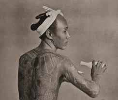 ирэдзуми тайное искусство японского тату