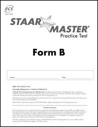 Staar Master Student Practice Book Series Math Reading