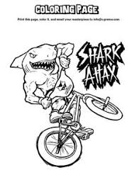 Small Picture On this page youll find some shark coloring pages which I have
