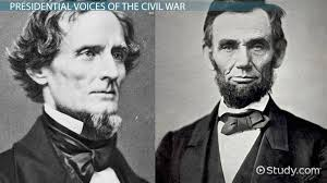 Jefferson Davis Vs Abraham Lincoln Chart Jefferson Davis Inaugural Address Summary Analysis