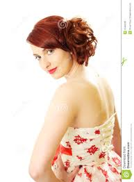 red hair beauty 50s style
