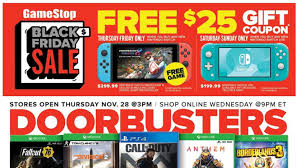 Gamestop Black Friday 2019 Ad Posted Tons Of Switch Ps4