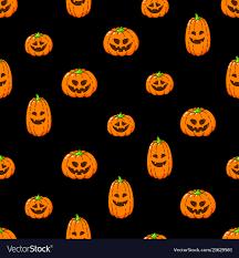Happy halloween seamless background ...