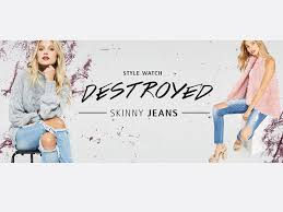 Fashion Banner Fashion Banner Design Destroyed Jeans By Ni Chen Chou On