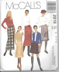 Wrap Skirt Pattern Interesting McCalls 48 Misses Wrap Skirts Sewing Pattern 48 48 48 EBay