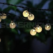 Solar Led String Lights SUPERNIGHT 6M 30 LED Crystal Ball Solar