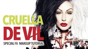 disney horror cruella de vil special fx makeup tutorial