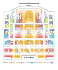 Barrow St Theater Seating Chart 2019 20 Season Seating Charts Nc Theatre
