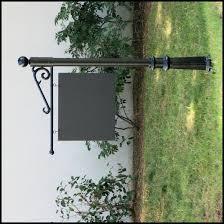 Decorative Sign Posts Premium Cast S Post System Aluminum 11