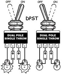 wiring diagram for single pole double throw switch wiring dpdt double pole switch wiring diagram single phase forward